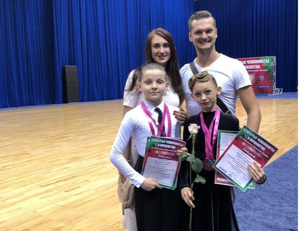 Вице-Чемпионы Республики Беларусь Дети 2 Латина 2018 Марковский Алексей и Горда Елизавета