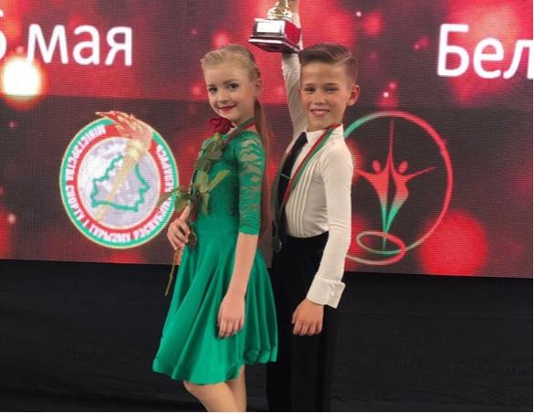 Чемпионы Республики Беларусь Дети 2 Латина 2019 Щукин Евгений и Кот Елена