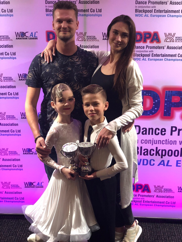 Финалисты Чемпионата Европы EUROPEAN CHAMPIONSHIPE WDC AL BLACKPOOL DANCE FESTIVAL 2019